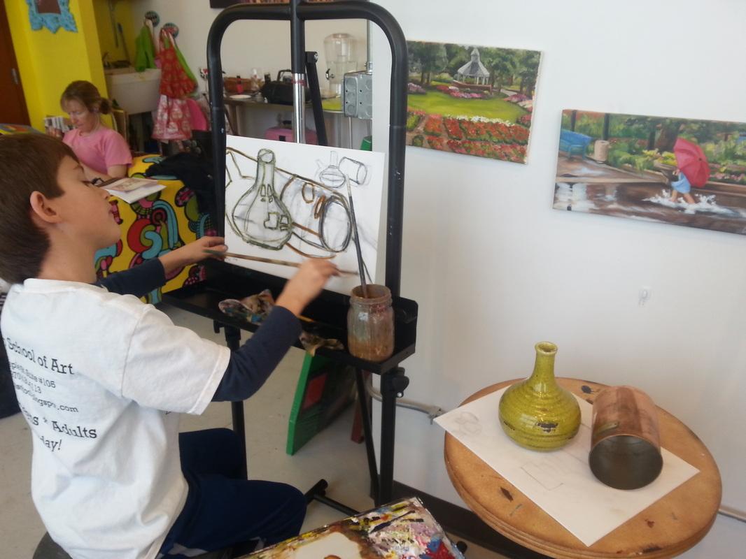 Oil Painting Figure Drawing Art Classes Vanco School Of Art